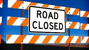 Road Closed Graphic