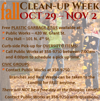 Fall Cleanup Week 2018 - FB Image Post