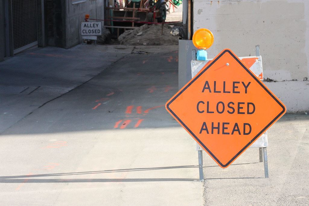Alley Closed