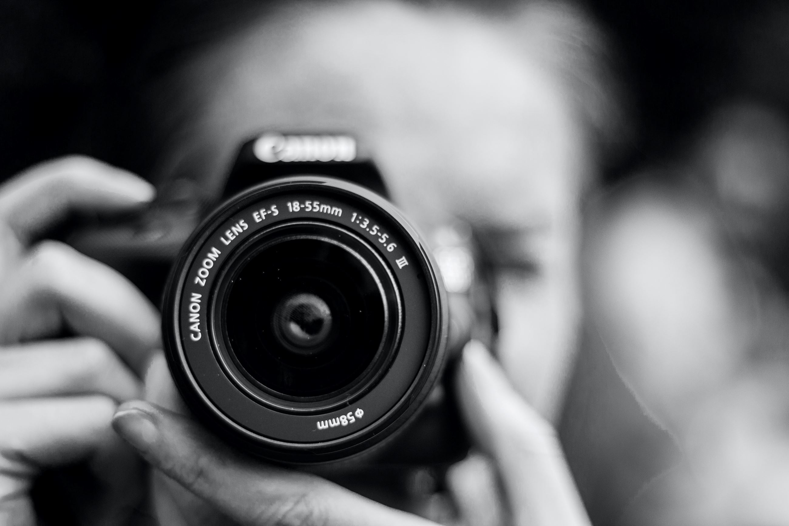 Photographer (Black & White) (by Ailbhe Flynn - unsplash)