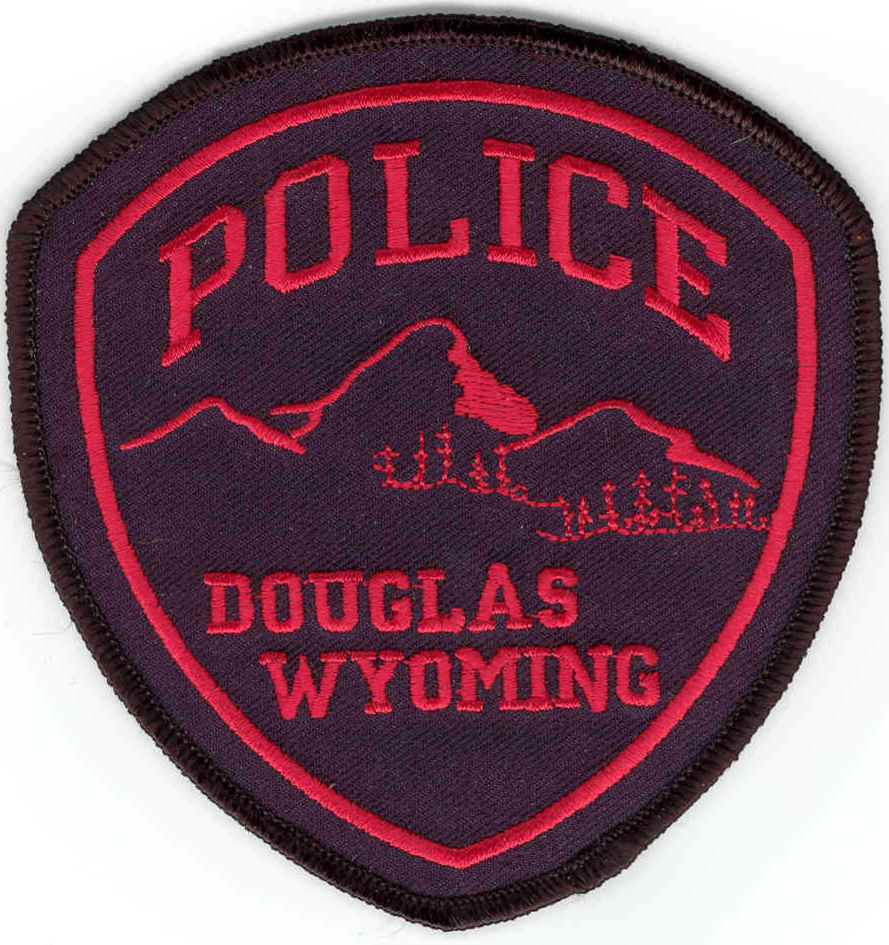 Douglas Police Badge